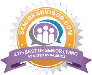 Award for 2015 Best of Senior Living